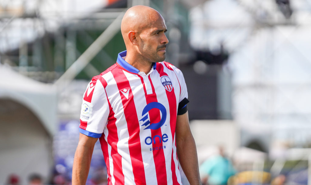 Francisco Acuña in action for Atlético Ottawa. (Photo: CPL / Chant Photography)