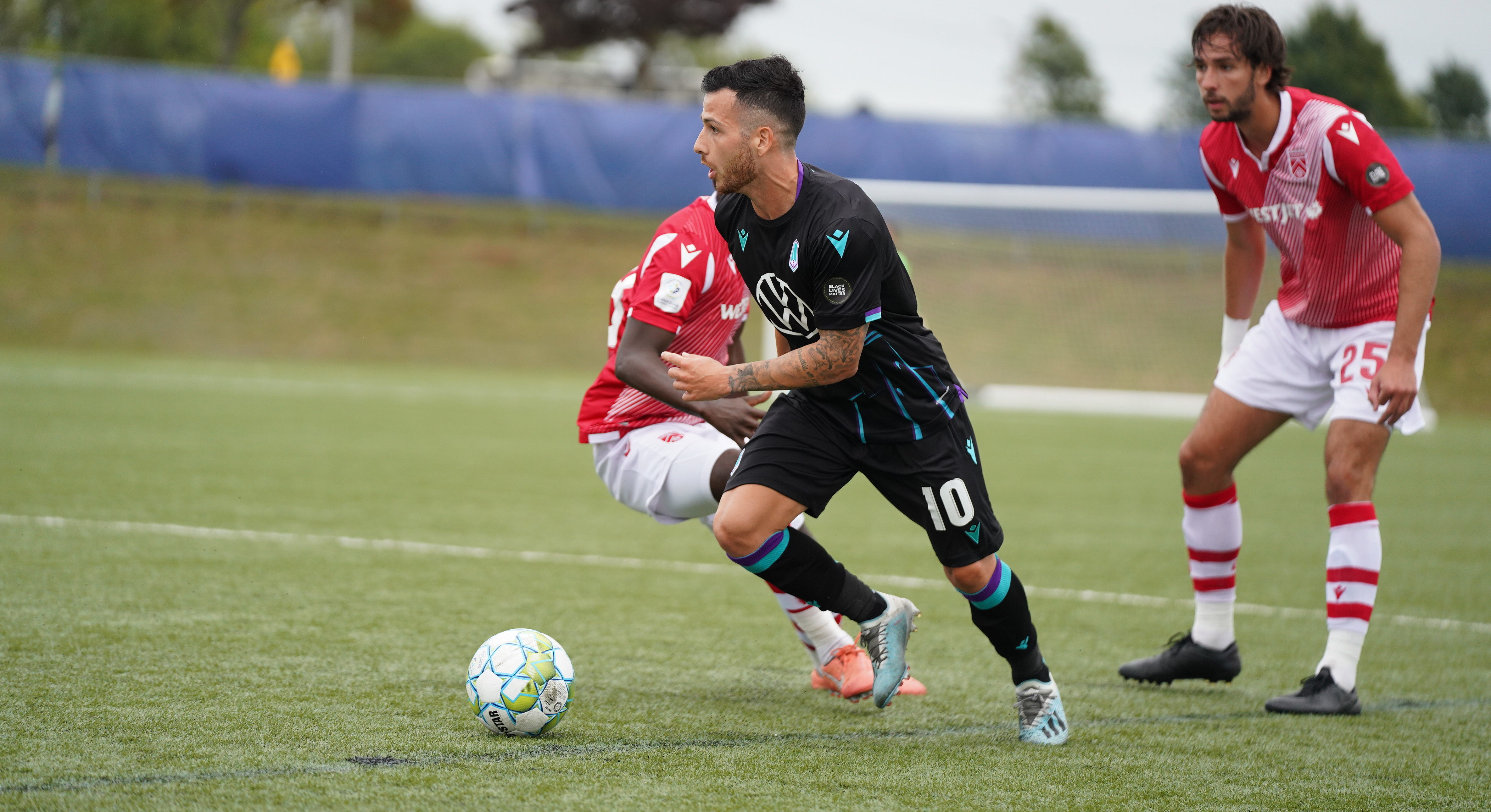 Pacific FC's Marco Bustos. (CPL/Chant Photography)