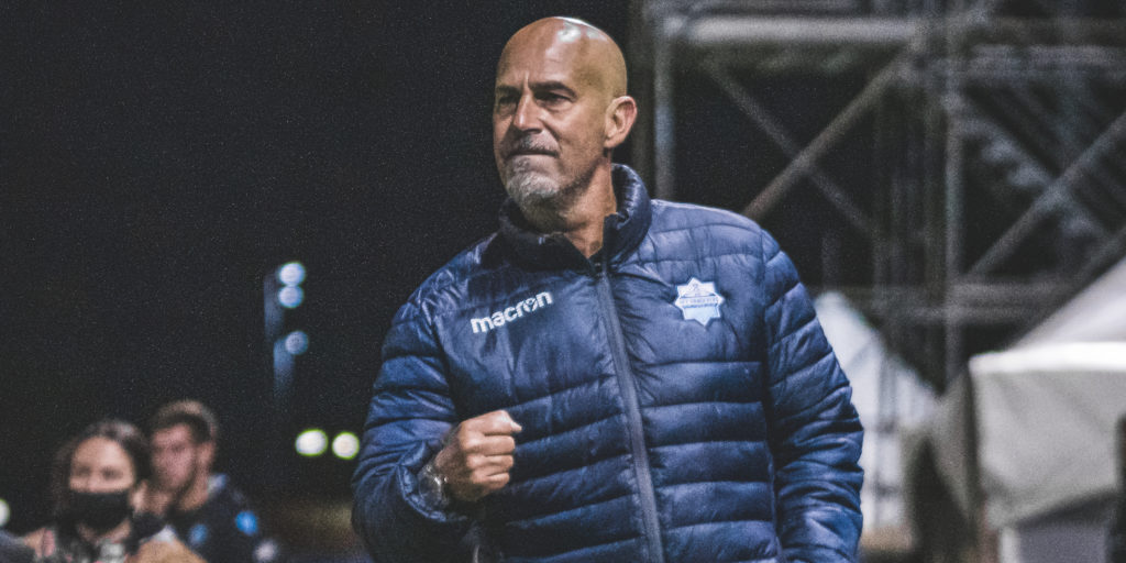 HFX Wanderers coach Stephen Hart. (Photo: CPL / Chant Photography)