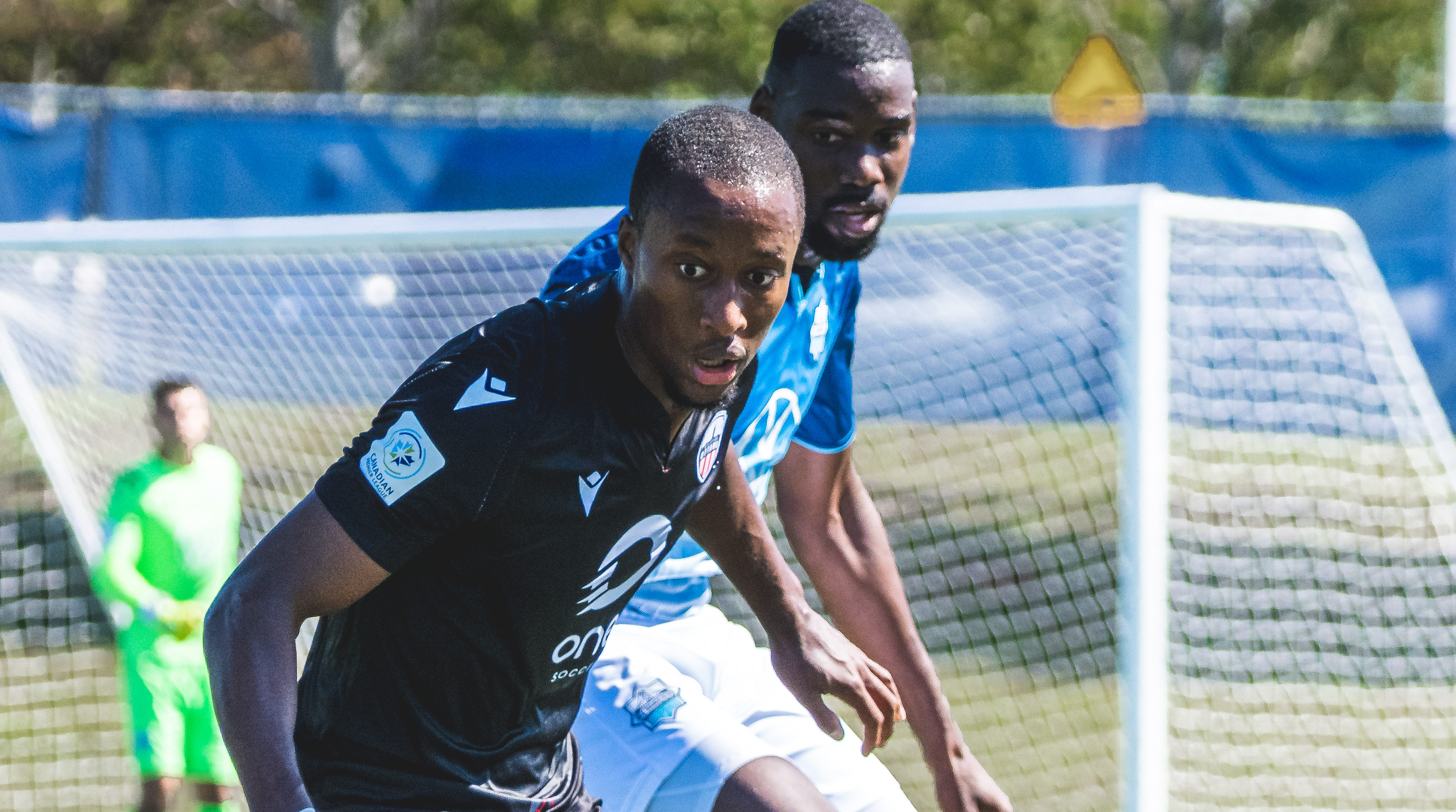 Atlético Ottawa's Malcolm Shaw. (CPL/Chant Photography)