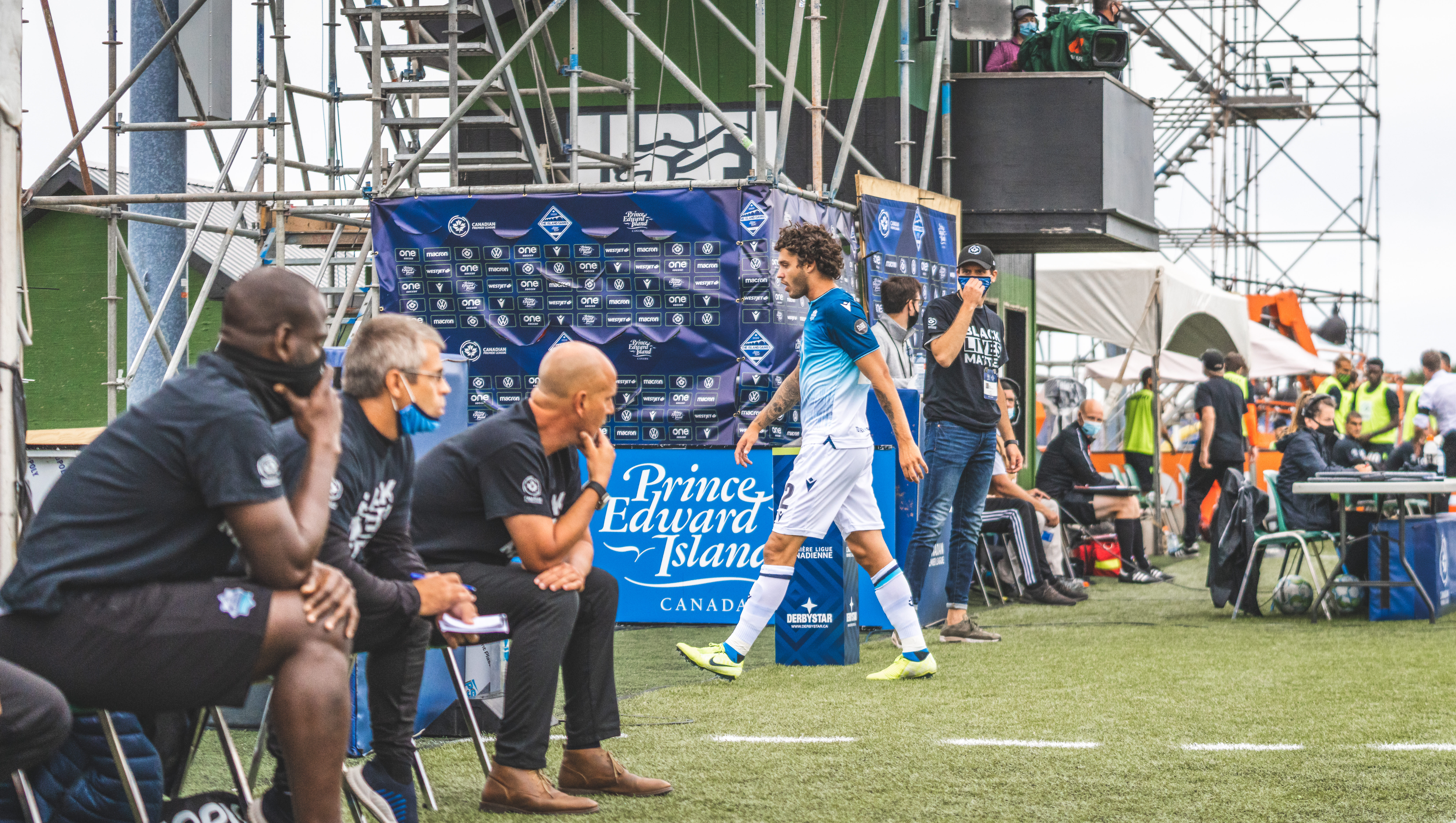 HFX Wanderers attacker João Morelli. (CPL/Chant Photography)