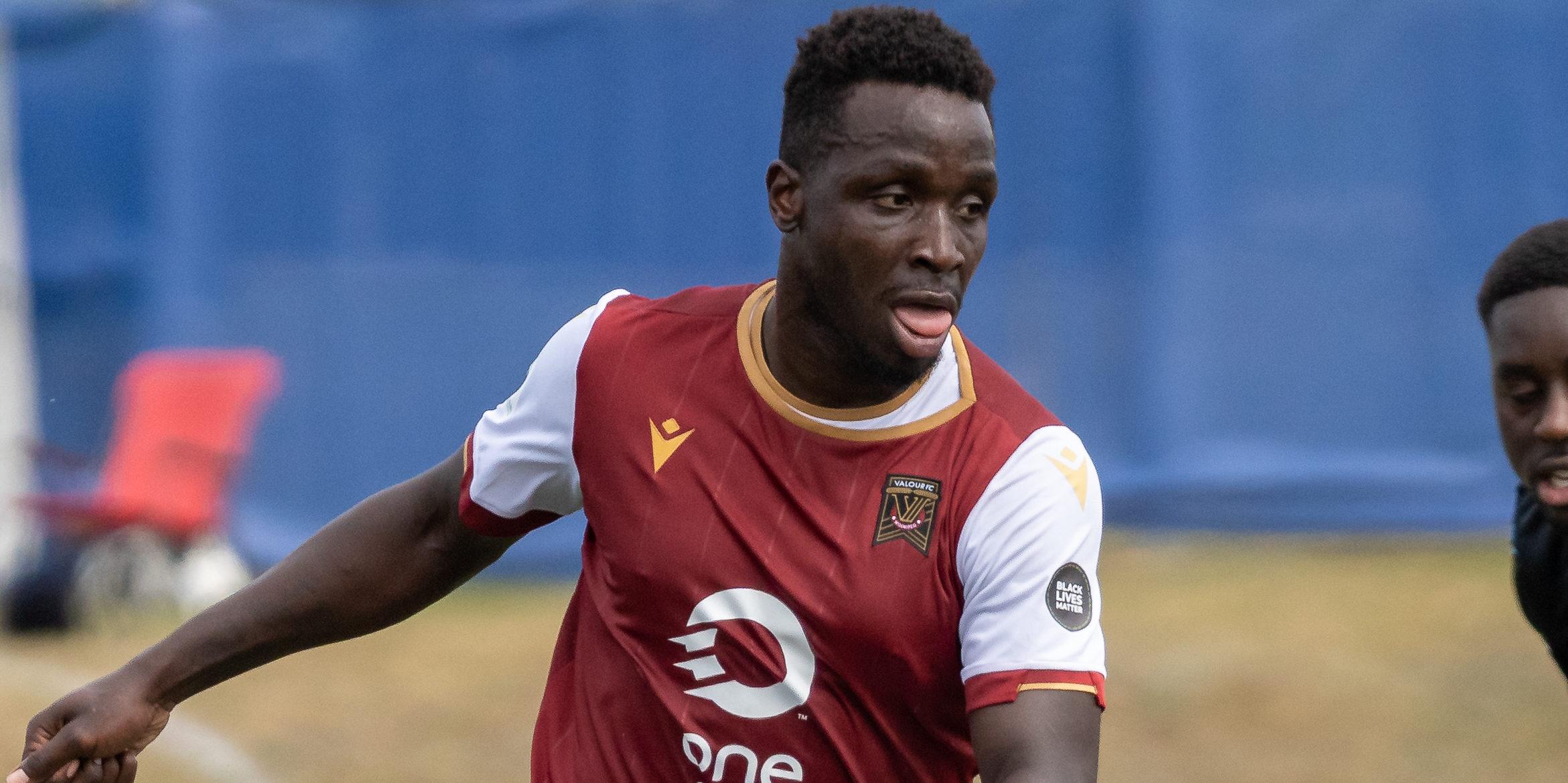 Valour FC defender Andrew Jean-Baptiste. (Photo: CPL / Chant Photography)
