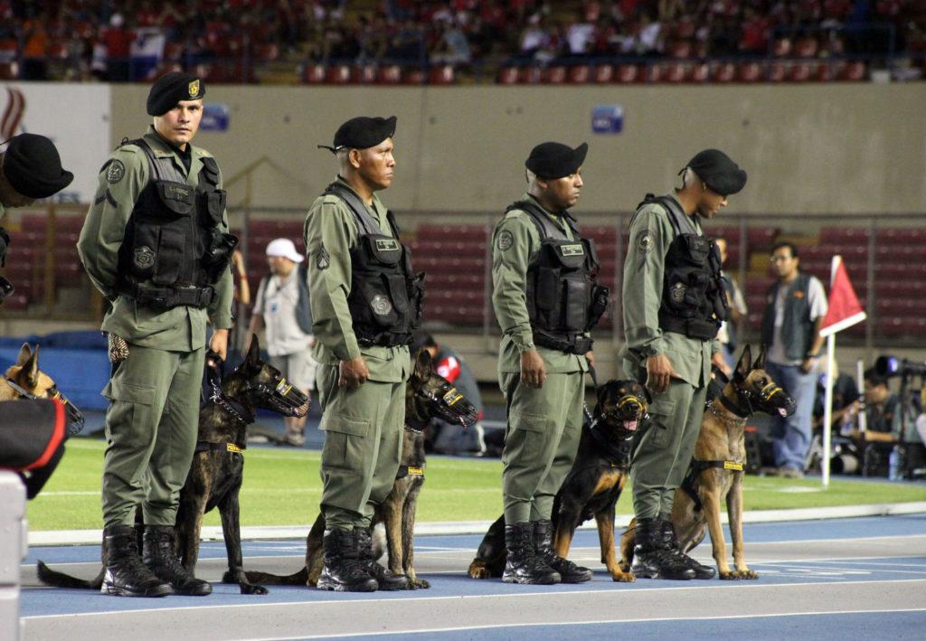 FIFA World Cup Qualifiers 11 September - Ciudad Panama, PAN Policia nacional at Estadio Rommel Fernández