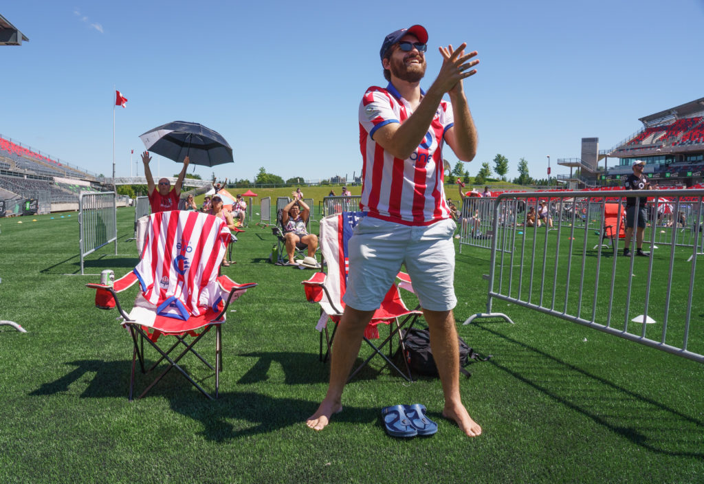 Atlético Ottawa - Aug. 15, 2020 - PHOTO: Andre Ringuette/Freestyle Photography
