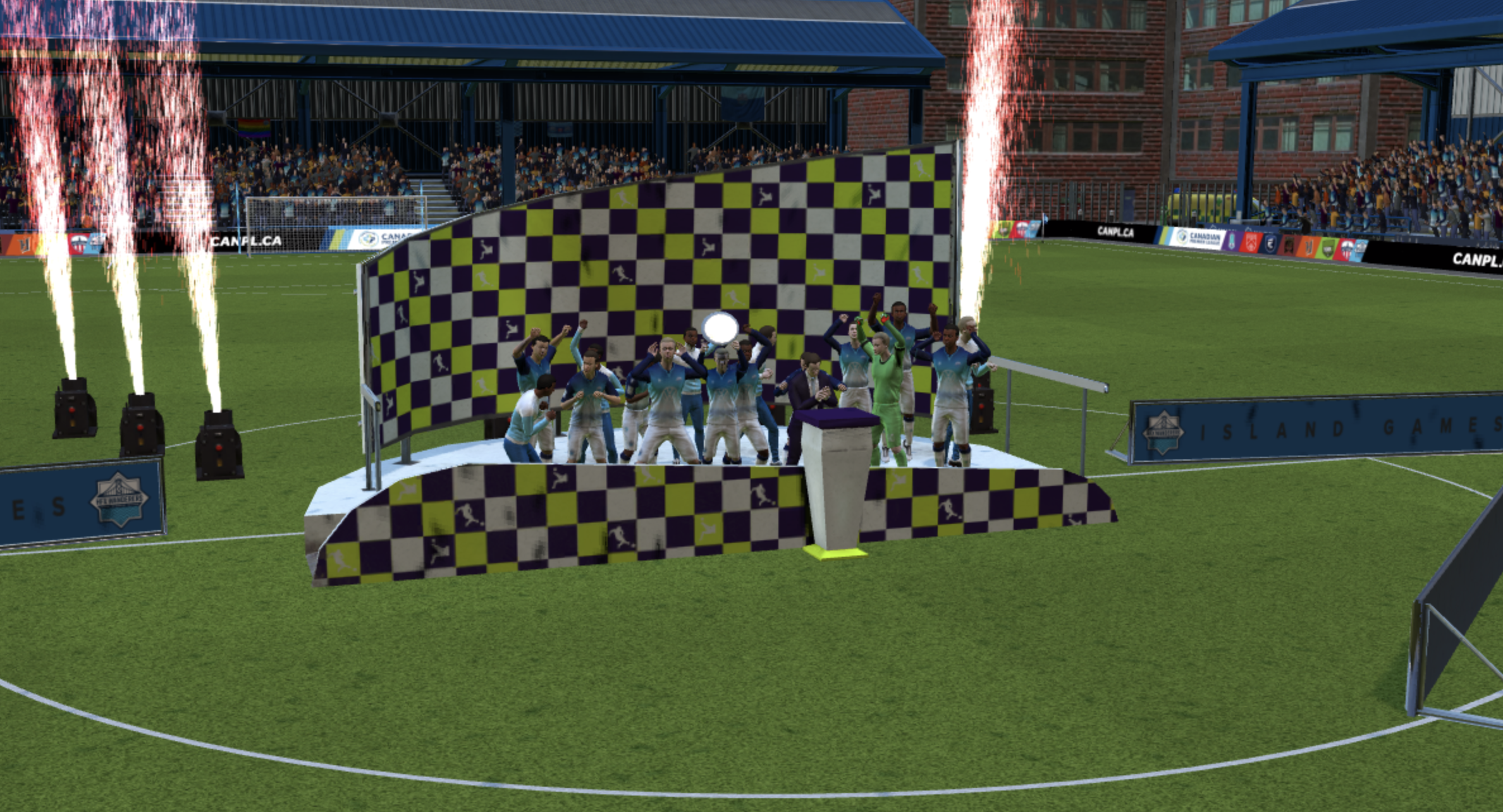 Capture the North Star Shield in Football Manager 21.