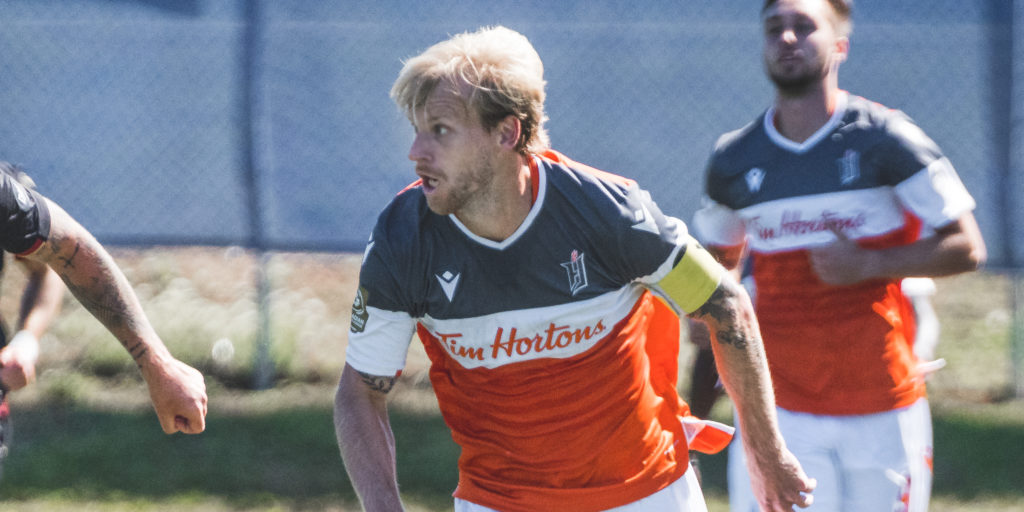 Forge FC's Kyle Bekker. (Photo: CPL/Chant Photography)