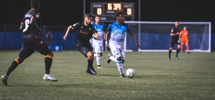 HFX Wanderers FC forward Akeem Garcia in action at The Island Games. (CPL/Chant Photography)