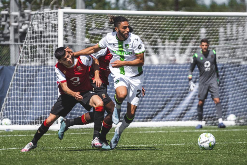 York9 FC defender Diyaeddine Abzi. (Photo: CPL/Chant Photography)