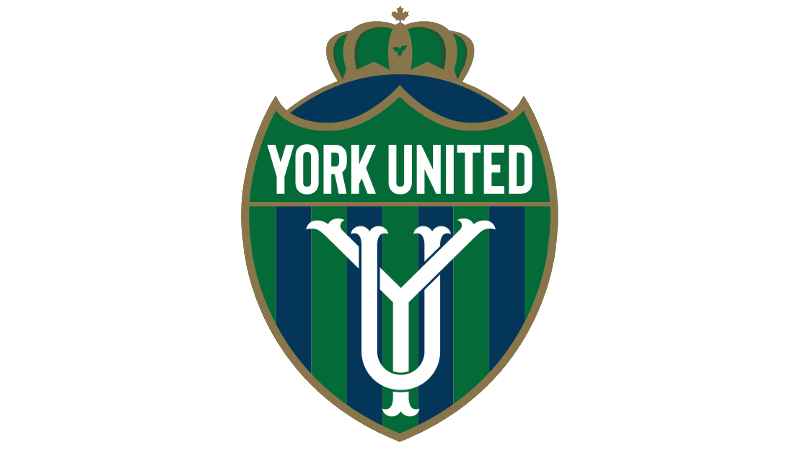 York United FC's new crest.