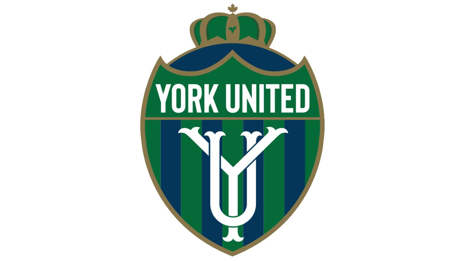 York United FC's new crest.