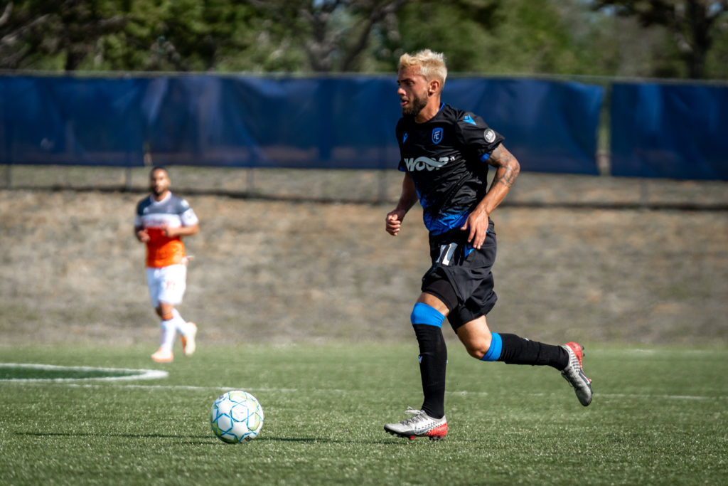 FC Edmonton attacker Keven Alemán. (Photo: CPL/Chant Photography