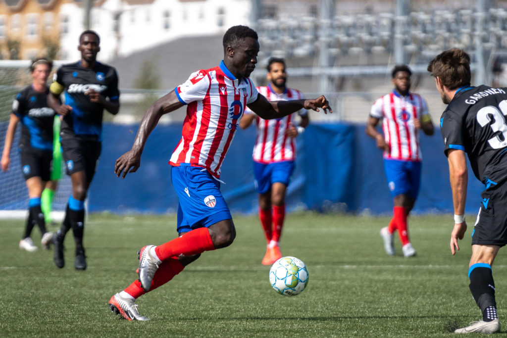 Atlético Ottawa's Mohamed Kourouma. (Photo: CPL/Chant Photography)