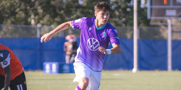 Pacific FC's Kadin Chung. (Photo: CPL/Chant Photography)