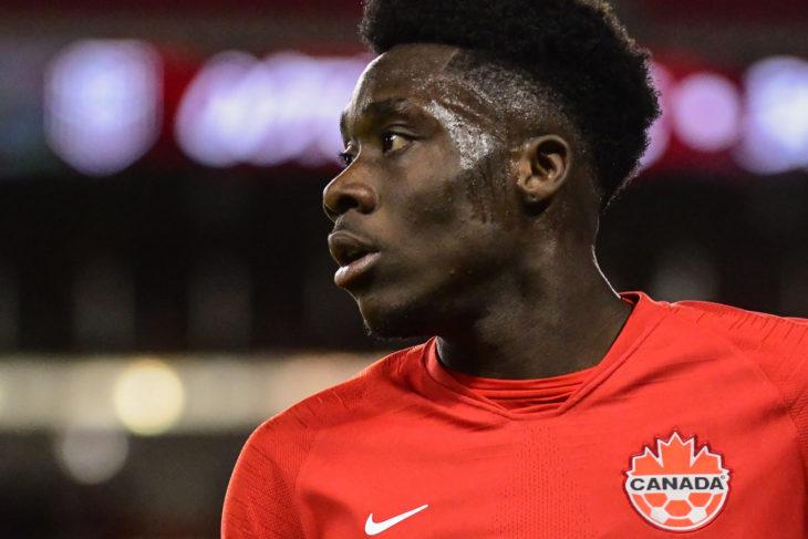 Alphonso Davies. (Canada Soccer/Martin Bazyl)