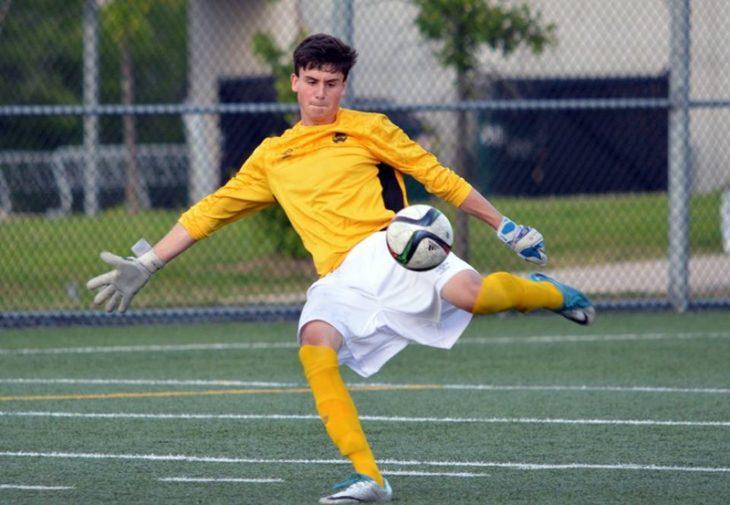 HFX Wanderers goalkeeper Kieran Baskett. (HFX photo)