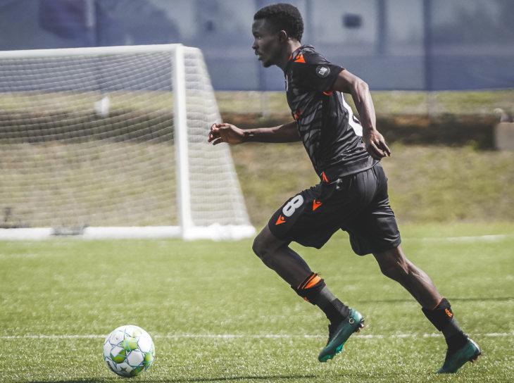 Forge FC midfielder Elimane Cissé. (Photo: CPL/Chant Photography)