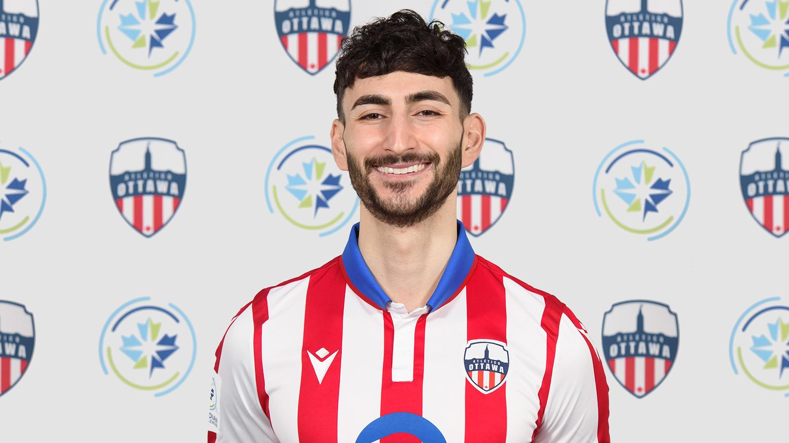 Chris Mannella of Atlético Ottawa. (Atlético Ottawa)