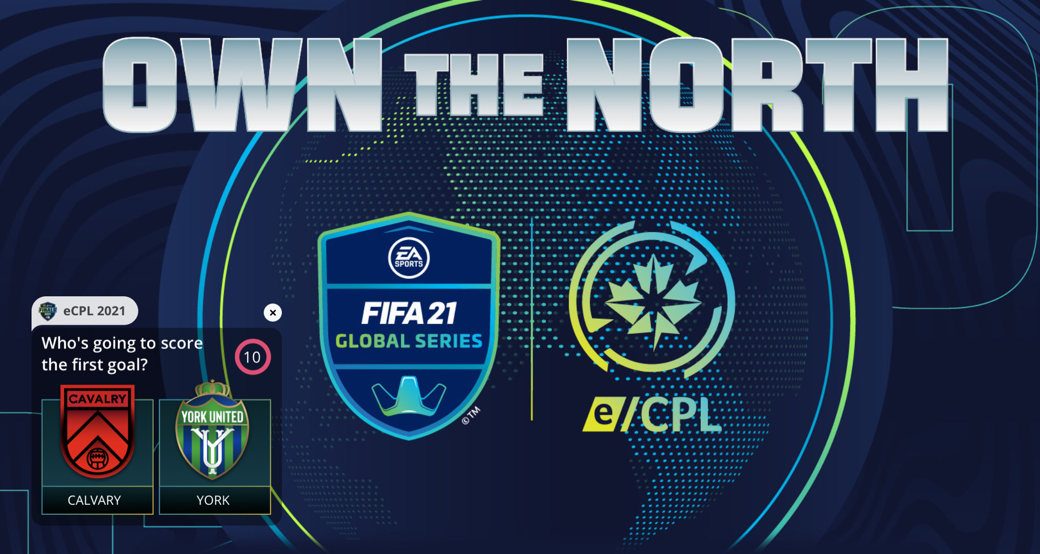 Sport Buff partners with Canadian Premier League for eCPL Own The North.