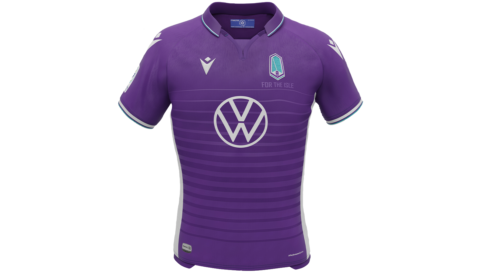 """Pacific FC's 2021 """"Community"""" kit, produced by Macron."""