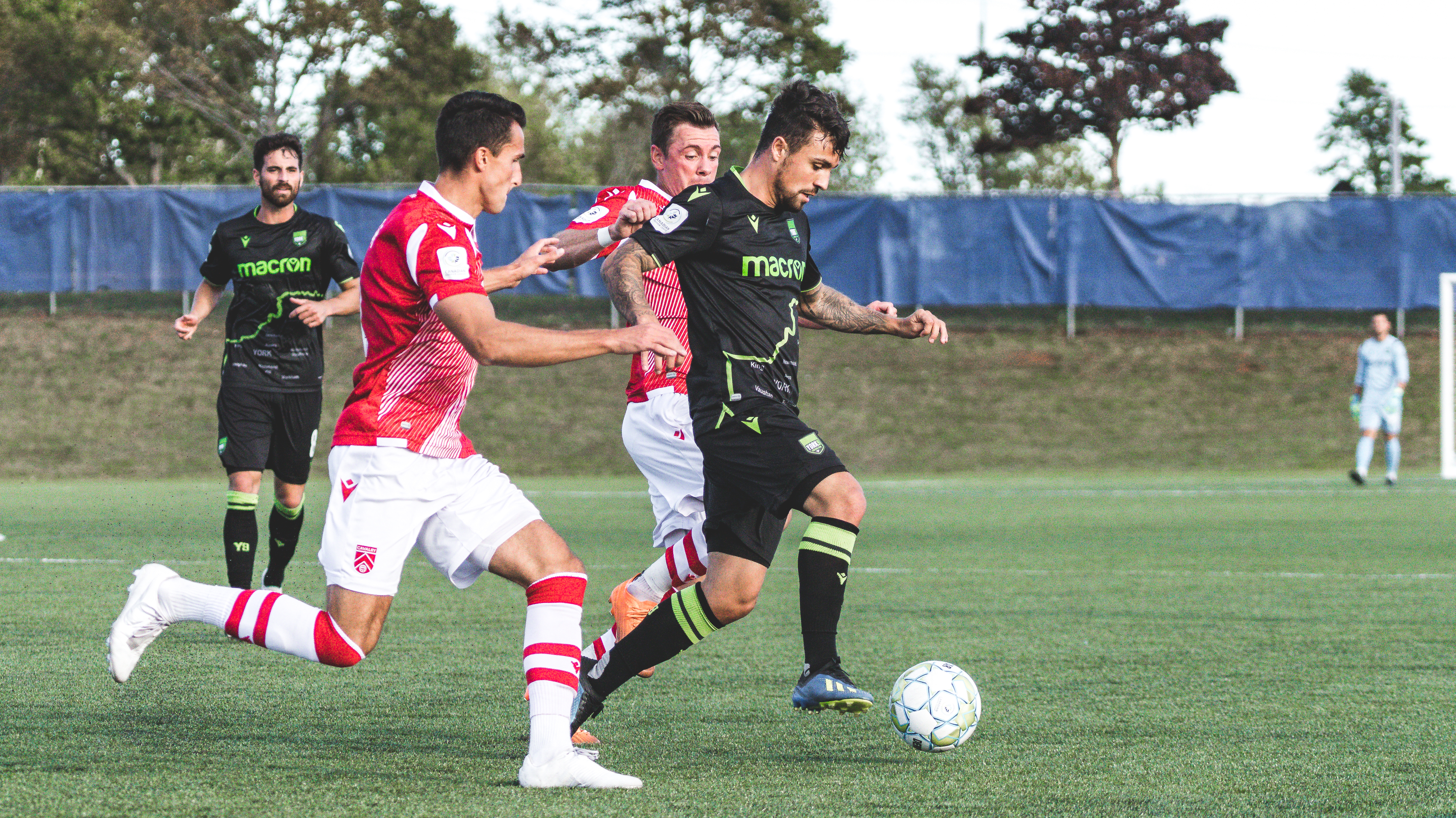 York9 FC vs. Cavalry FC at the Island Games. (Photo: CPL/Chant Photography)