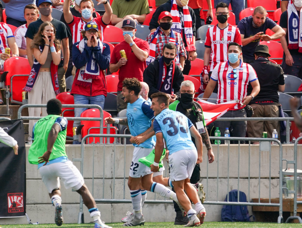 Atlético Ottawa vs HFX Wanderers September 11, 2021 PHOTO: Andre Ringuette/Freestyle Photography/CPL