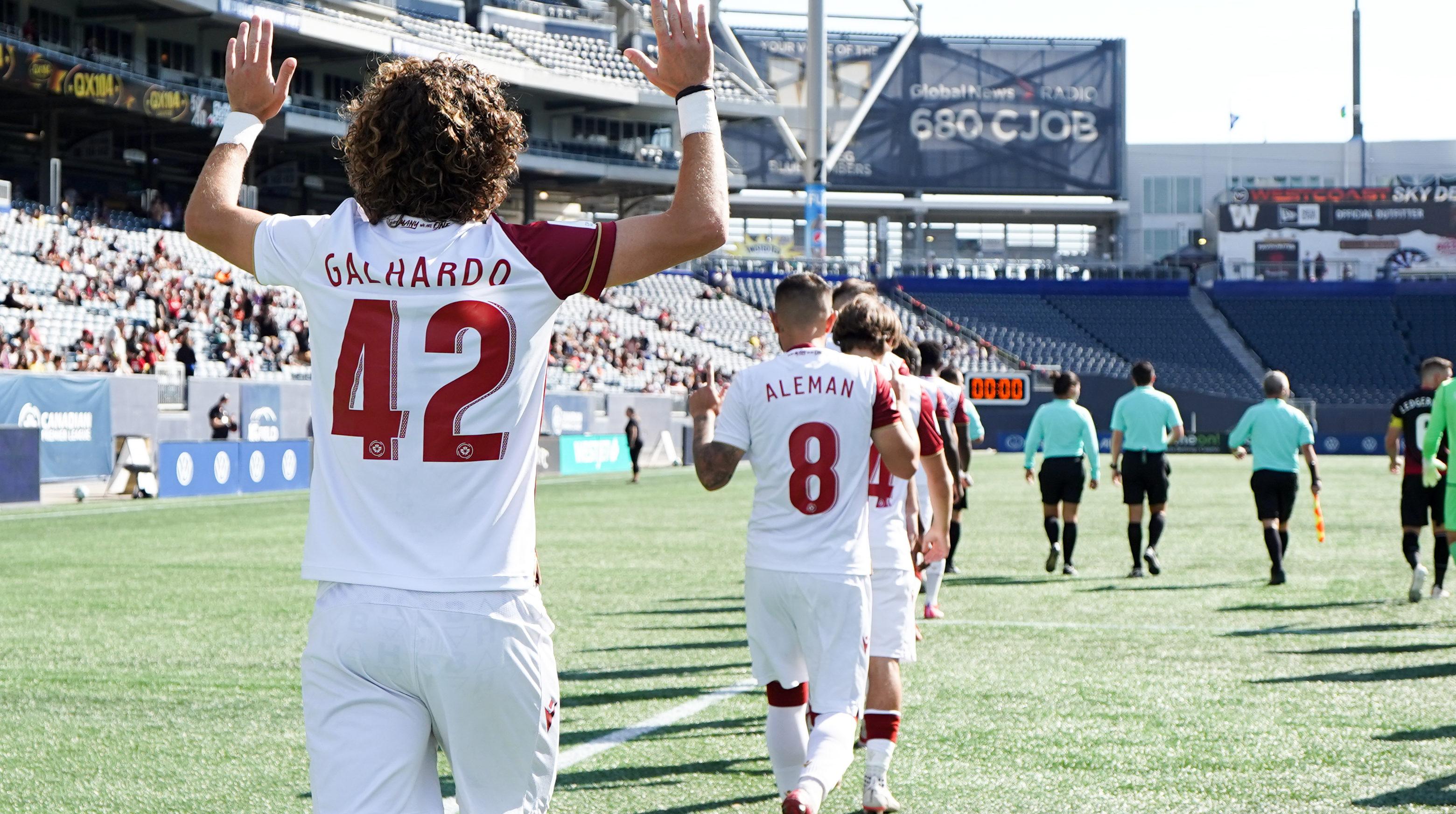 Valour FC's Rafael Galhardo. (CPL)