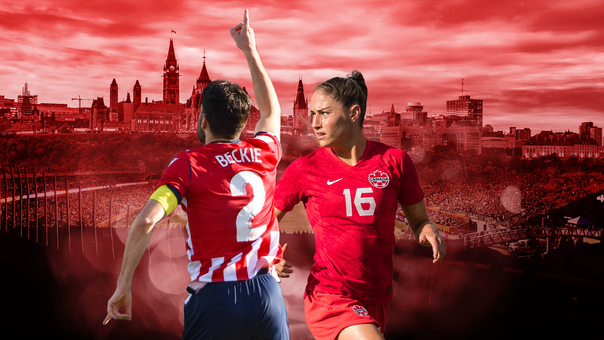 Beyond The Pitch: CanWNT's Janine Beckie & Atlético Ottawa's Drew Beckie