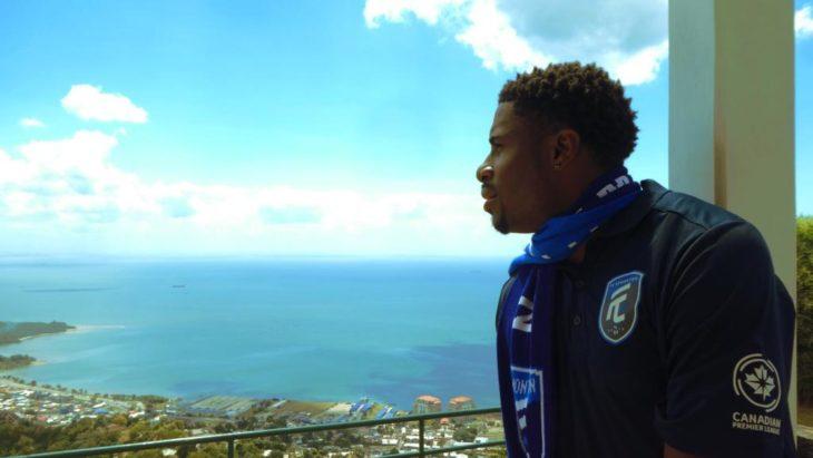 Kareem Moses in his native Trinidad & Tobago