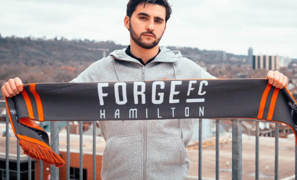 Tristan Borges signs for Forge FC.