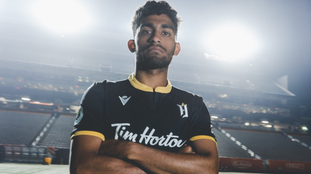 Forge FC's Monti Mohsen. (Forge FC).
