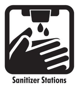 Sanitizer-Stations